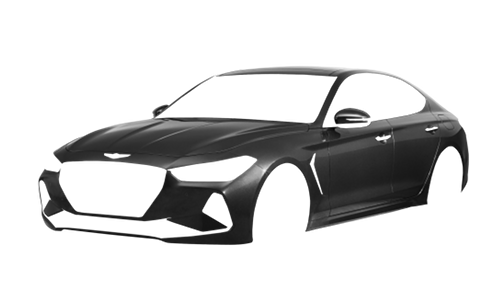 Цвета кузова Genesis G70